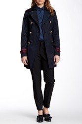 Vince Camuto Military Trench Petite Blue