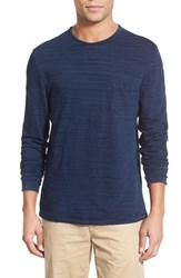Men's Faherty Long Sleeve Pocket T Shirt