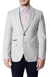 7 Diamonds Men's Leece Casual Blazer Oat
