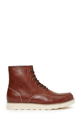Forever 21 Faux Leather Moccasin Boots
