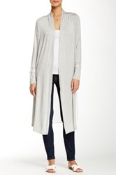 Romeo And Juliet Couture Sheer Back Cardigan Gray
