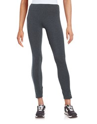 Marc New York Embellished Active Leggings Charcoal Heather