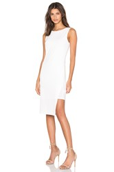 Velvet By Graham And Spencer Claudine Stretch Jersey Tank Dress Cream