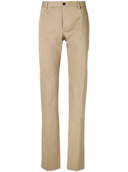 Etro Straight Leg Chinos Nude And Neutrals