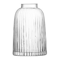Lsa International Pleat Vase Clear