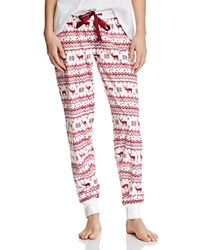 Pj Salvage Nordic Cuff Pants Natural Red