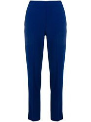 D.Exterior Mid Rise Tailored Trousers Blue