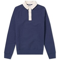 Gant Rugger Rugby Shirt Blue