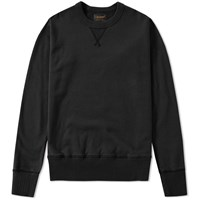 National Anthem Athletic Goods Single V Warm Up Crew Sweat Black