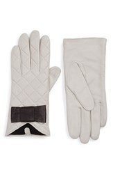 Women's Kate Spade New York Quilted Leather Gloves