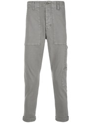 J Brand Koeficent Cargo Trousers Grey
