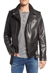 Schott Nyc Men's Perfecto Waxy Leather Moto Jacket