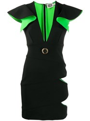 Fausto Puglisi Cut Out Sun Dress Black