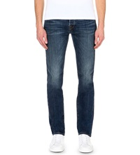 True Religion Rocco Relaxed Fit Skinny Jeans Lt Blue
