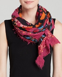Fraas Love Square Scarf Pink
