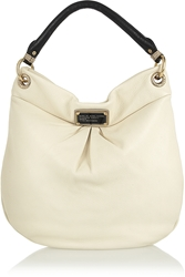 Marc By Marc Jacobs Classic Q Hillier Hobo Textured Leather Shoulder Bag