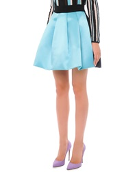 Fausto Puglisi Bicolor Pleated A Line Skirt 36 2