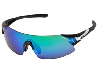 Tifosi Optics Podium Xc Interchangeable Black White Athletic Performance Sport Sunglasses