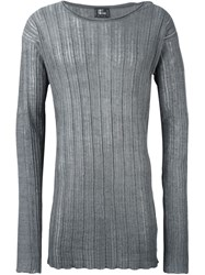 Lost And Found Fine Knit Sweater Grey