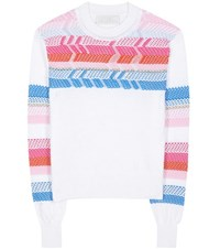 Peter Pilotto Peruvian Knit Cotton Sweater Multicoloured