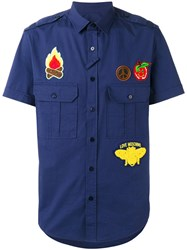 Love Moschino Shortsleeved Shirt Blue