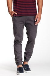 Micros Crossblock Printed Twill Jogger Gray