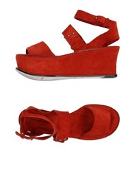 Cnc Costume National Costume National Footwear Sandals Women Red
