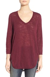 Women's Gibson V Neck Knit Tunic