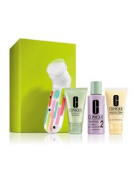 Clinique Clean Skin Great Skin Set For Drier Skin Type I Iii