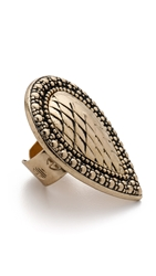 Samantha Wills Bohemian Bardot Armour Ring Antique Gold