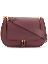 Anya Hindmarch Vere Maxi Soft Satchel Red
