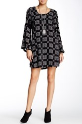 Voom By Joy Han Anya Bell Sleeve Dress Black