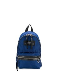 Marc Jacobs The Medium Backpack Blue
