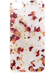 Anrealage Pressed Florals Iphone Case Red