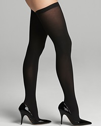 Commando Tights Up All Night Thigh High Hth01 Black