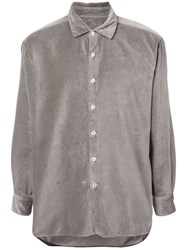 Casey Casey Boxy Fit Shirt Grey