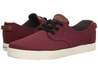 Circa Harvey Maroon Gray Men's Skate Shoes Red