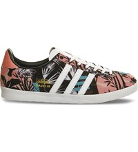 Adidas Gazelle Og Floral Print Woven Trainers Multi Floral Print