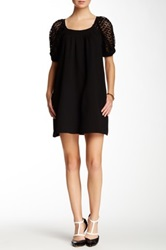 Voom By Joy Han Sylvie Bow Detail Dress Black
