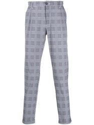 Hydrogen Cyber Houndstooth Slim Fit Trousers 60