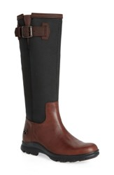 Timberland Women's Turain Tall Waterproof Boot Medium Brown Leather