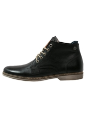 Sneaky Steve Duke Mid Laceup Boots Black