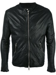 Giorgio Brato Zip Up Jacket Black