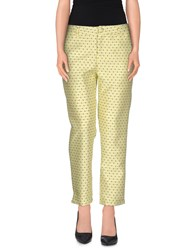 Anonyme Designers Trousers Casual Trousers Women Light Green
