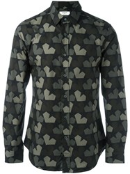 Ports 1961 Star Camouflage Shirt Green