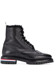 Thom Browne Shearling Lining Wingtip Boot 60