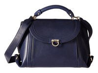 Salvatore Ferragamo Suzanna 21G395 Oxford Blue Handbags