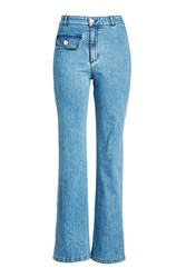 See By Chloe High Waisted Flare Jeans