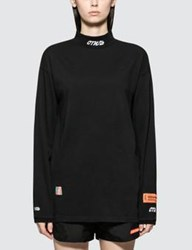 Heron Preston Turtleneck Fitted Long Sleeve T Shirt