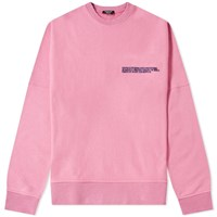 Calvin Klein 205W39nyc Embroidered Logo Classic Crew Sweat Pink